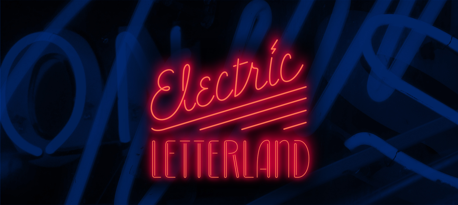 Electric Letterland Neon Walking Tour